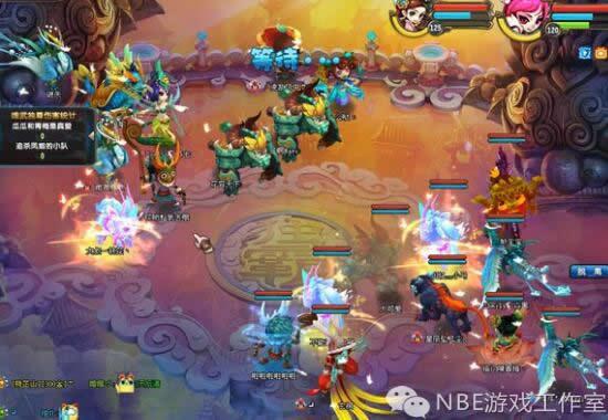 《QQ仙灵》腾讯能赚人民币的回合制五开网游