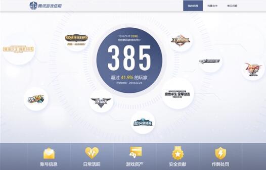 腾讯游戏信用正式上线,通过大数据打击搬砖党?